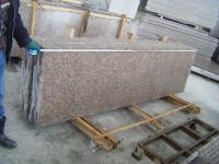 G687 Peach Red Granite Slabs