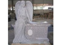 China G617 Granite Angel Headstones