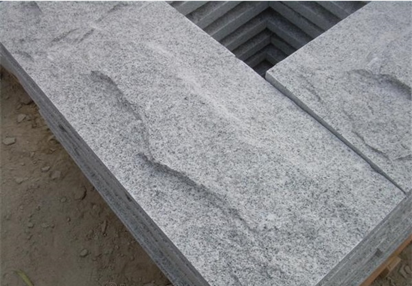 Chinese Granite G603 Grey Granite Mushroom Stone Wall Cladding