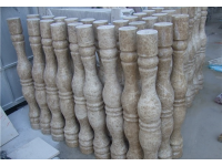 Yellow Beige Marble Baluster