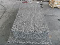 Spray White Poland Tombstones Granite Gravestones