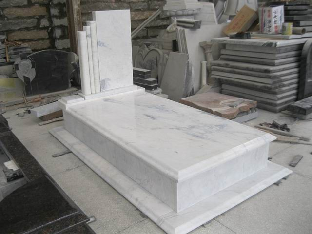 White Marble Hungary Tombstone Dawei Stone Co Ltd