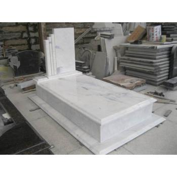 White Marble Hungary Tombstone