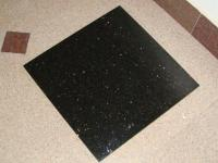 Indian Black Galaxy Granite Tiles