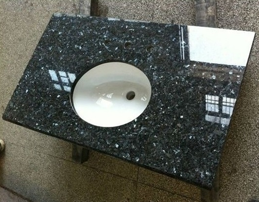 Blue Pearl Granite Vanity Top Dawei Stone Co Ltd