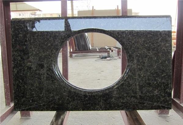 Ubatuba Green Granite Bathroom Vanity Tops Dawei Stone Co