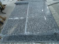 Spray White Sea Wave Granite Poland Tombstone