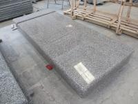 Rosa Porino G664 Granite Single Tombstone