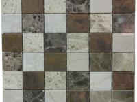 China Marble Mosaic Tiles for Wall Cladding