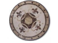 Marble Waterjet Medallion Tiles