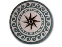 Marble Floor Medallion Tiles