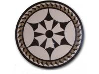 Natural Stone Waterjet Medallion